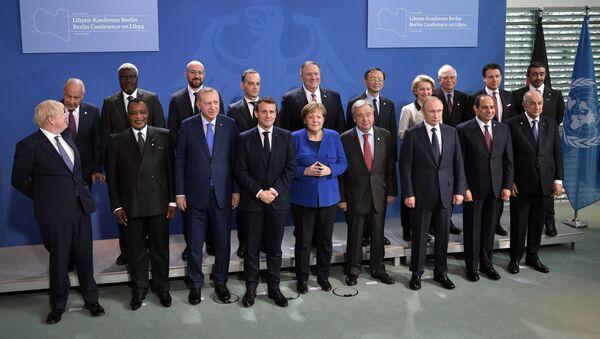 Międzynarodowa konferencja ws. Libii w Berlinie - Sputnik Polska