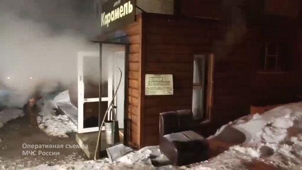 """Wejście do minihotelu """"Karamel"""", Perm - Sputnik Polska"""