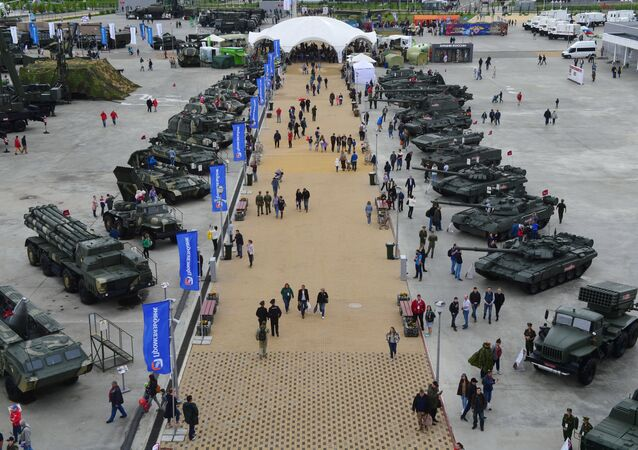 Rosyjski sprzęt wojskowy na forum Armia 2019