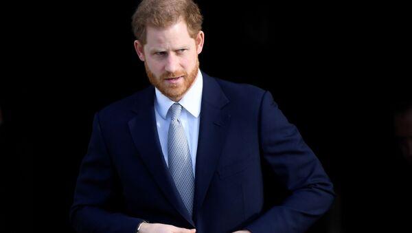 Książę Harry w Pałacu Buckingham - Sputnik Polska