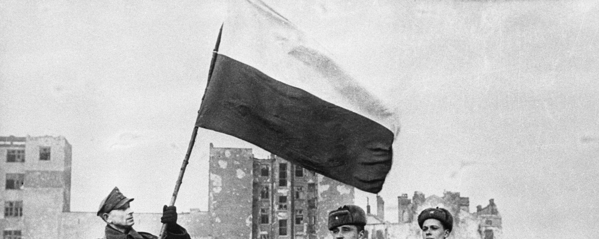 Wyzwolenie Polski od nazistowskich najeźdźców, 1945 rok - Sputnik Polska, 1920, 08.06.2021
