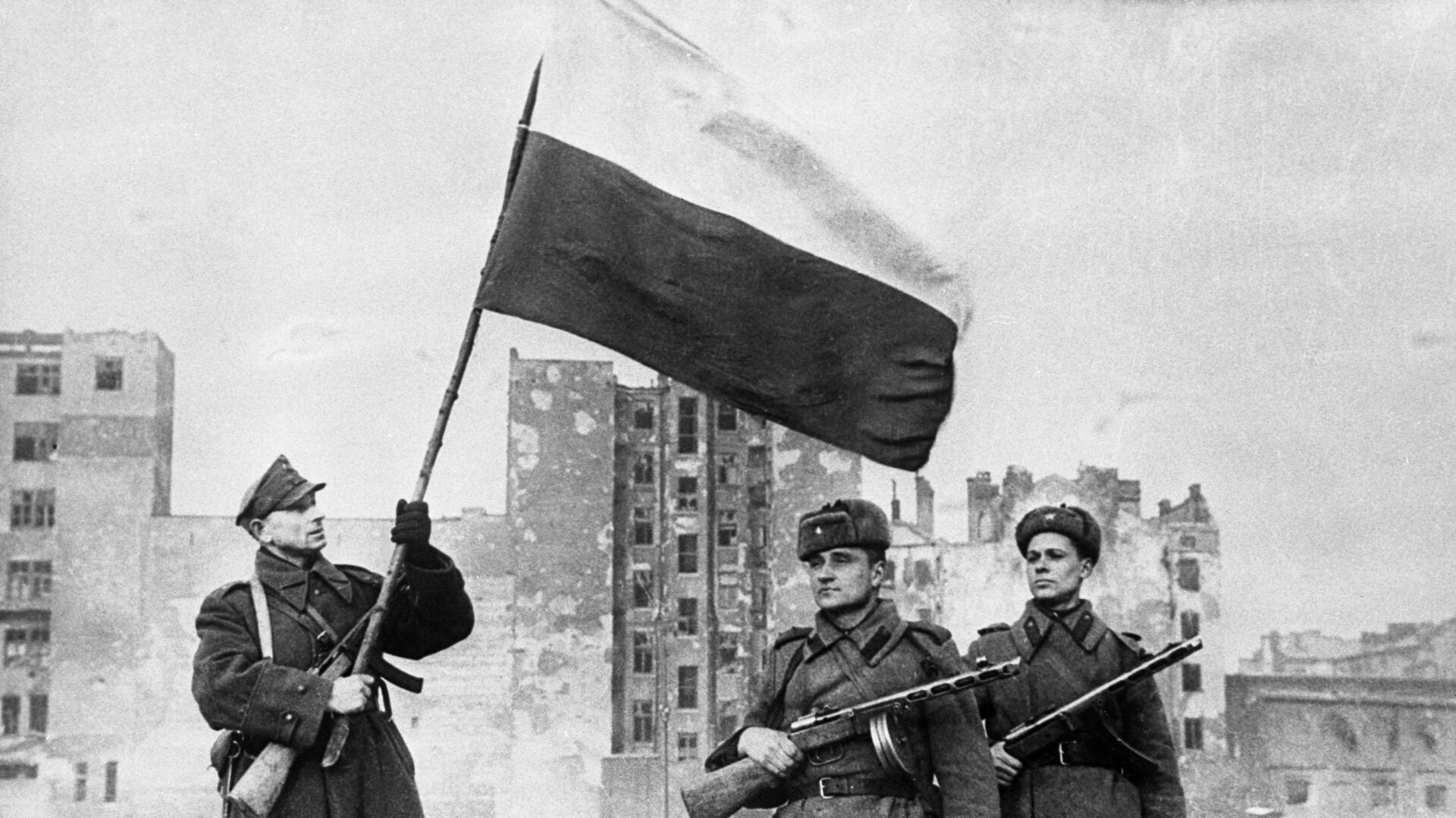 Wyzwolenie Polski od nazistowskich najeźdźców, 1945 rok - Sputnik Polska, 1920, 08.05.2021