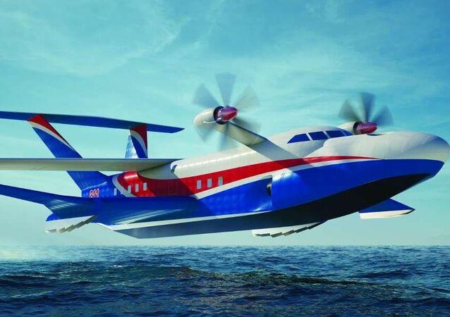 Ekranoplan А-050 Czajka-2