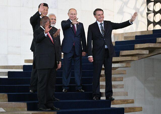Liderzy państw BRICS