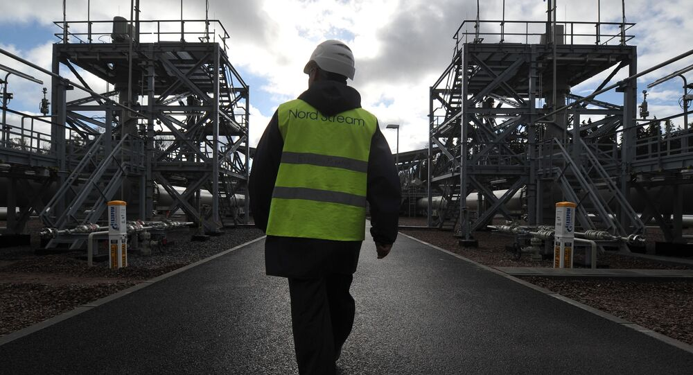 Na terytorium stacji Portowaja, gdzie uruchomiono drugą nitkę gazociągu Nord Stream 2