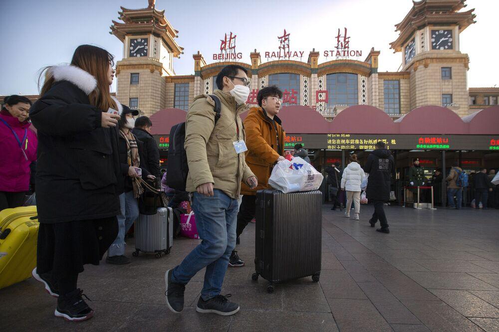Pod dworcem w Pekinie