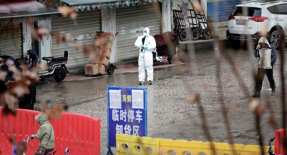 Epidemia koronawirusa w Chinach.