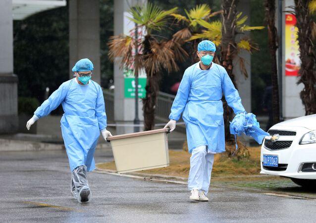 Szpital w Wuhanie