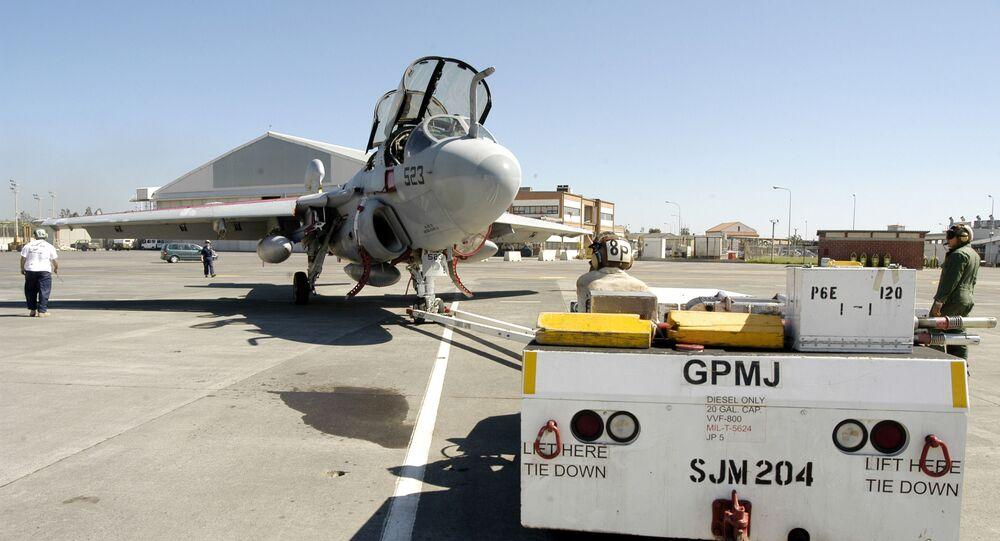 Baza lotnictwa morskiego USA na Sycylii Sigonella