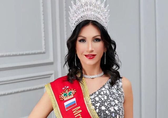 Zwyciężczyni konkursu Mrs Universal Classic - 2020, mieszkanka Petersburga Ksenia Wierbicka