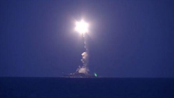 Atak pociskami manewrującymi pozycje PI w Syrii - Sputnik Polska