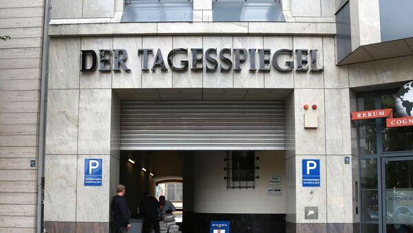 Redakcja dziennika Der Tagesspiegel w Berlinie - Sputnik Polska