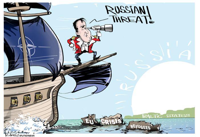 Jaki kryzys? Jacy uchodźcy? Rosja!