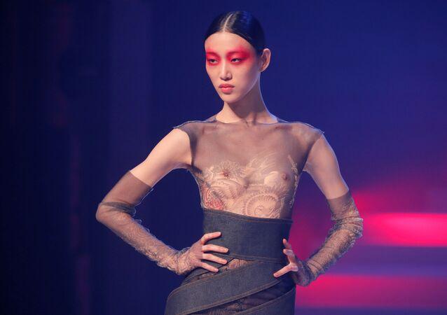 Ostatnie fashion show Jean-Paula Gaultiera