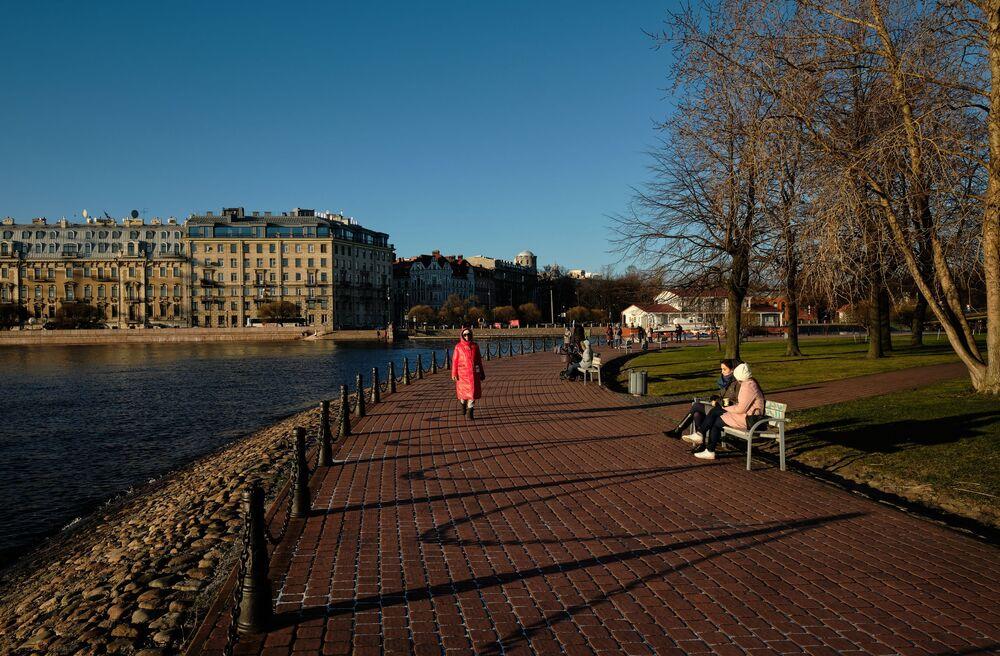 Park przy Twierdzy Pietropawłowskiej