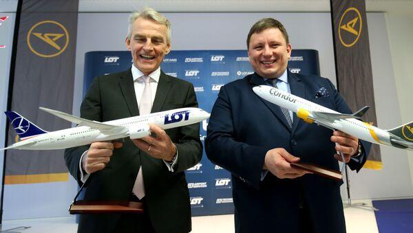 Zakup linii lotniczych Condor - Sputnik Polska