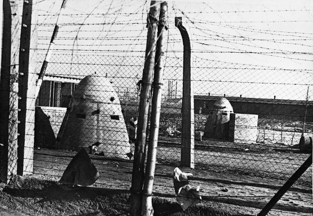 Obóz Auschwitz w 1945 roku