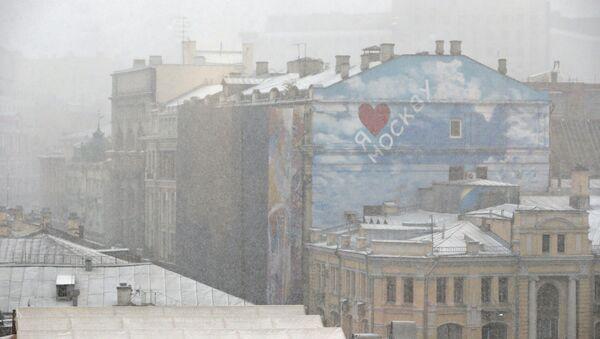 Pierwszy śnieg w Moskwie - Sputnik Polska