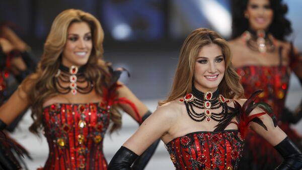 Finał konkursu Miss Wenezuela 2015 w Caracasie - Sputnik Polska