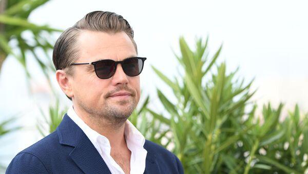 Leonardo DiCaprio podczas sesji zdjęciowej w ramach 72. Festiwalu Filmowego w Cannes - Sputnik Polska