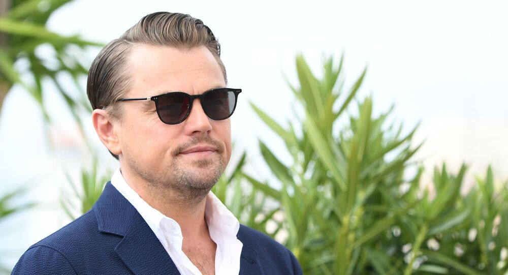 Leonardo DiCaprio podczas sesji zdjęciowej w ramach 72. Festiwalu Filmowego w Cannes