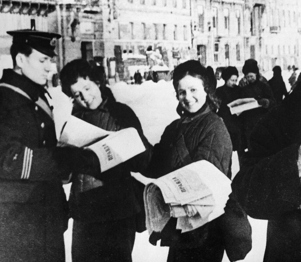 """Najnowsze wiadomości w gazecie """"Blokada Leningrada"""", 18 stycznia 1943 rok"""