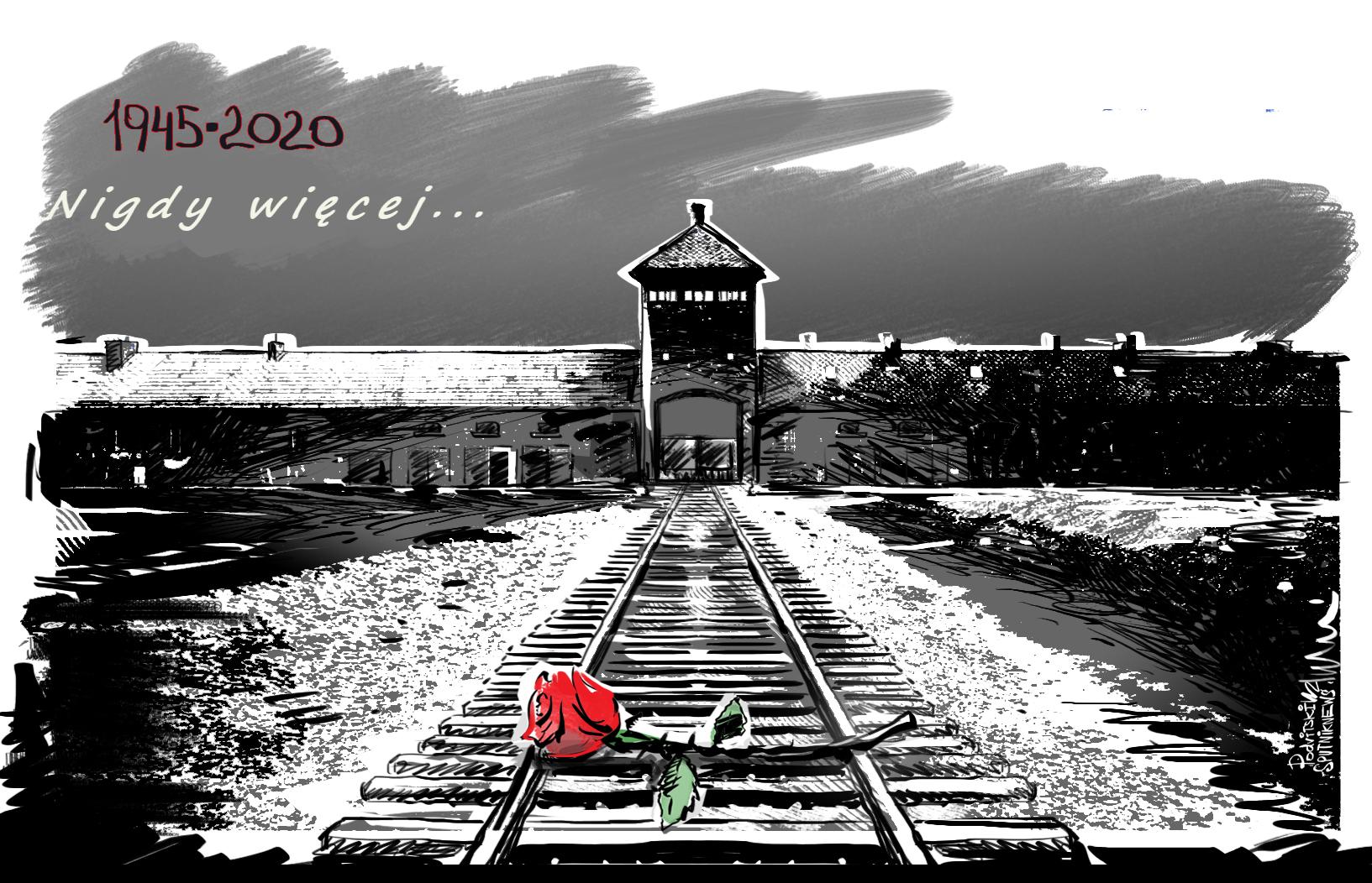 Nigdy więcej: 75. rocznica wyzwolenia obozu Auschwitz-Birkenau