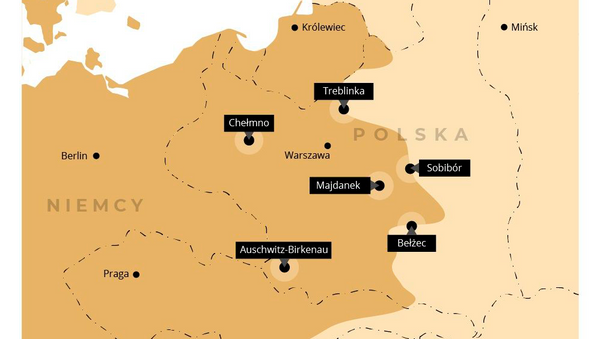 Największe obozy śmierci nazistowskich Niemiec - Sputnik Polska