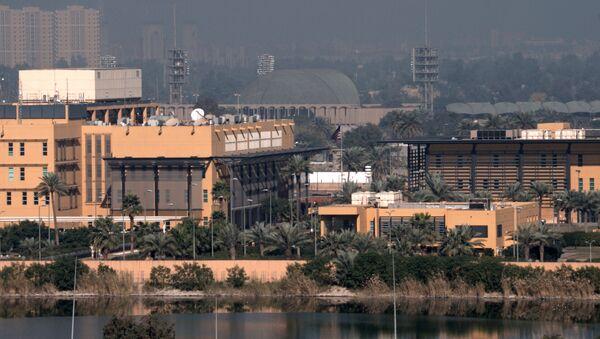 Ambasada USA w Bagdadzie - Sputnik Polska
