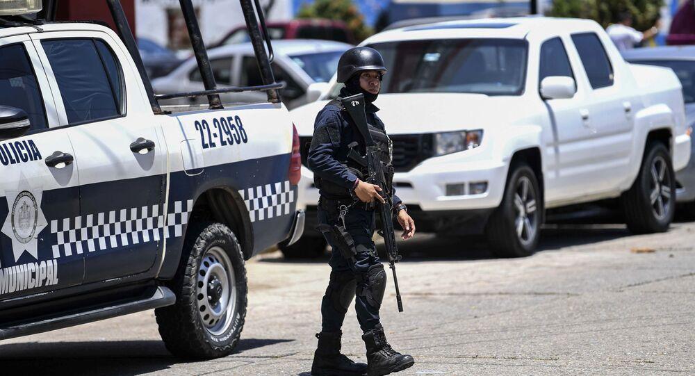 Policja w Meksyku.