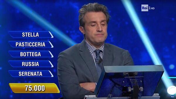 Kadr z programu telewizyjnego L'eredita, emitowanego na kanale RAI - Sputnik Polska