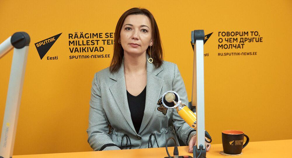 Redaktor naczelna Sputnika Estonia Jelena Czeryszewa