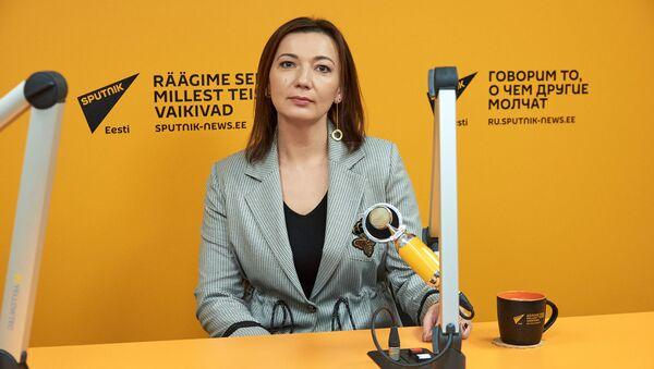 Redaktor naczelna Sputnika Estonia Jelena Czeryszewa - Sputnik Polska