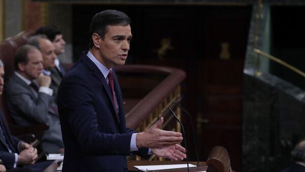 Przewodniczący rządu hiszpańskiego Pedro Sanchez - Sputnik Polska