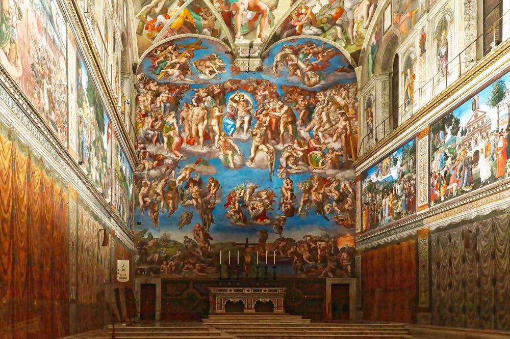 Kaplica Sykstyńska w Pałacu Watykańskim