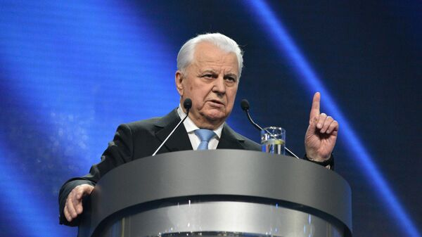 Pierwszy prezydent Ukrainy Leonid Krawczuk - Sputnik Polska
