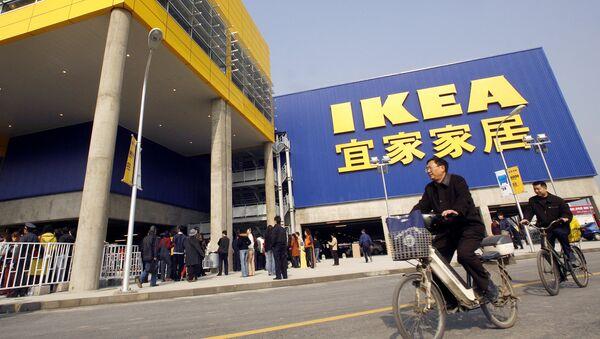 Sklep IKEA w Chinach - Sputnik Polska
