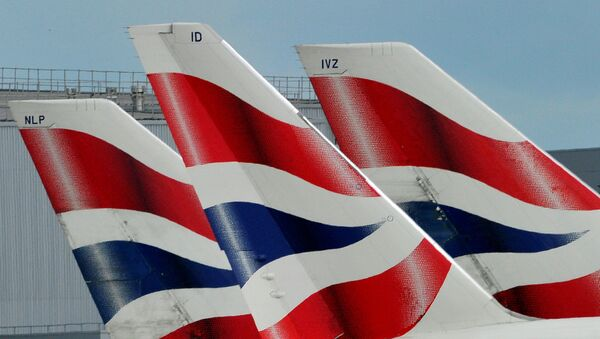 Samoloty linii lotniczej British Airways  - Sputnik Polska