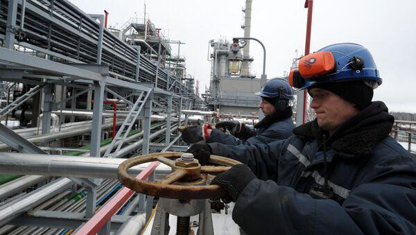Rafineria w Mozyrzu na Białorusi - Sputnik Polska