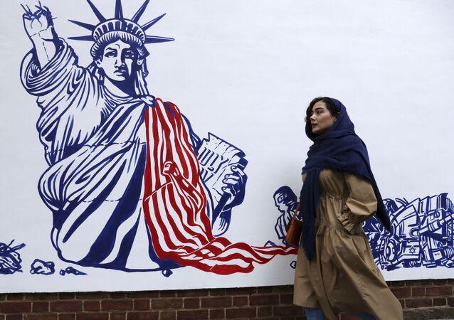 Graffiti w Iranie
