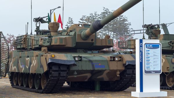 "Czołg Hyundai Rotem K2 ""Black Panther"" - Sputnik Polska"