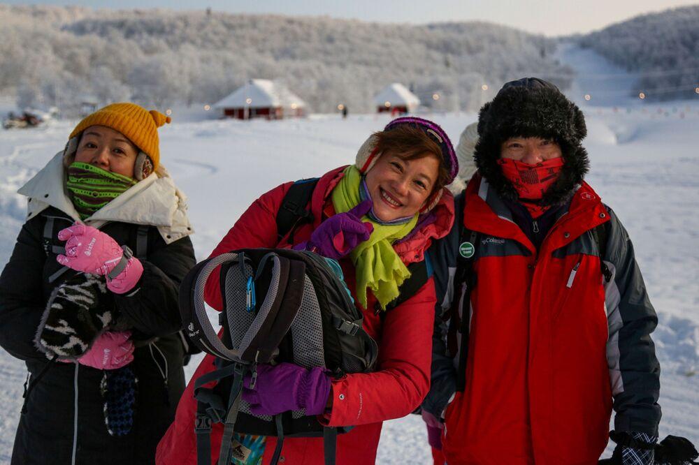 Turyści z Chin w obwodzie murmańskim