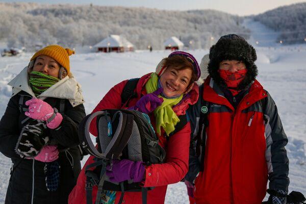 Turyści z Chin w obwodzie murmańskim - Sputnik Polska