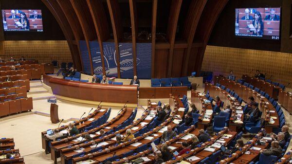 Zimowa sesja Zgromadzenia Parlamentarnego Rady Europy w Strasburgu. - Sputnik Polska