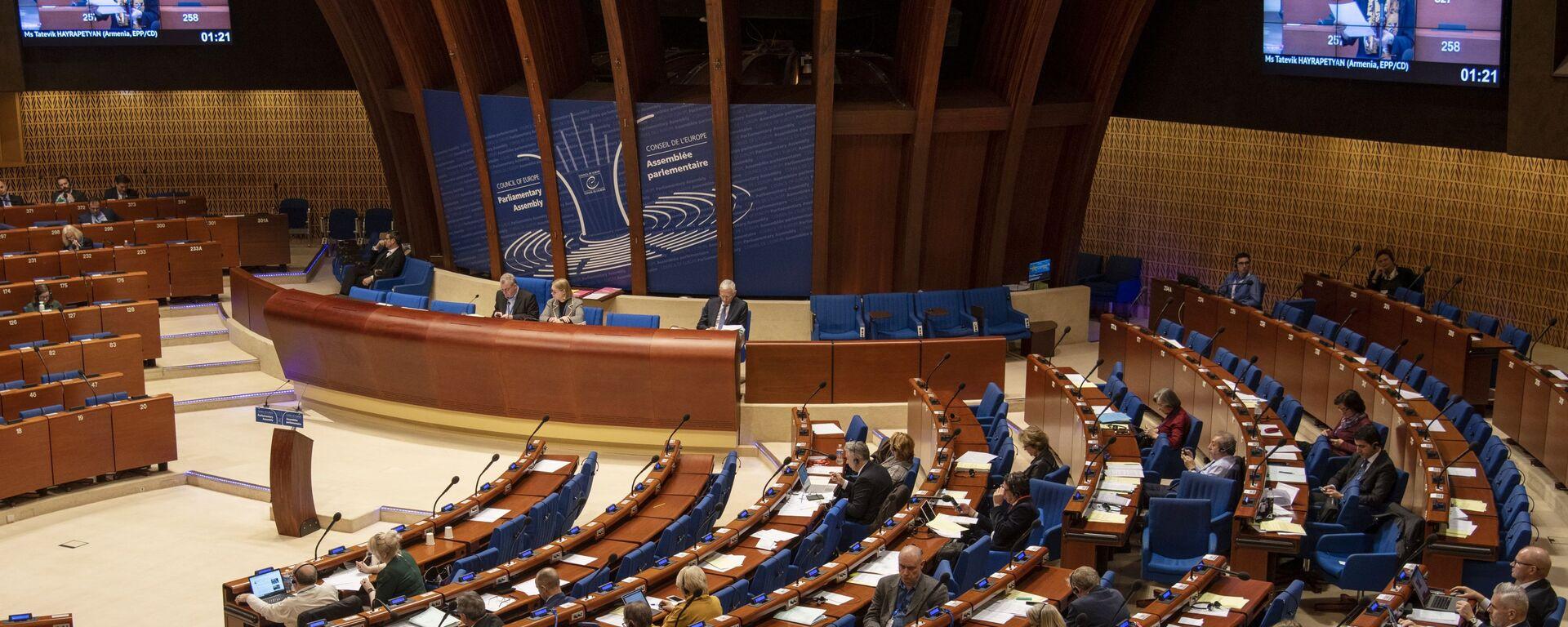 Zimowa sesja Zgromadzenia Parlamentarnego Rady Europy w Strasburgu. - Sputnik Polska, 1920, 17.08.2021