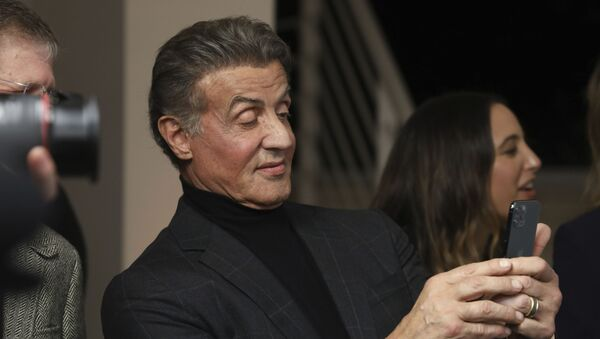 Amerykański aktor i reżyser Sylvester Stallone - Sputnik Polska