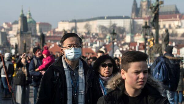 Praga, grypa - Sputnik Polska