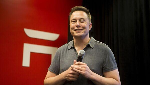 Tesla CEO Elon Musk - Sputnik Polska