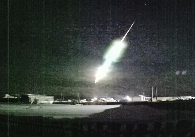 Meteoryt nad Uralem