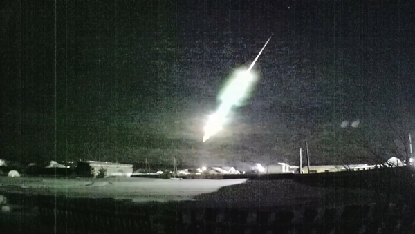 Meteoryt nad Uralem - Sputnik Polska